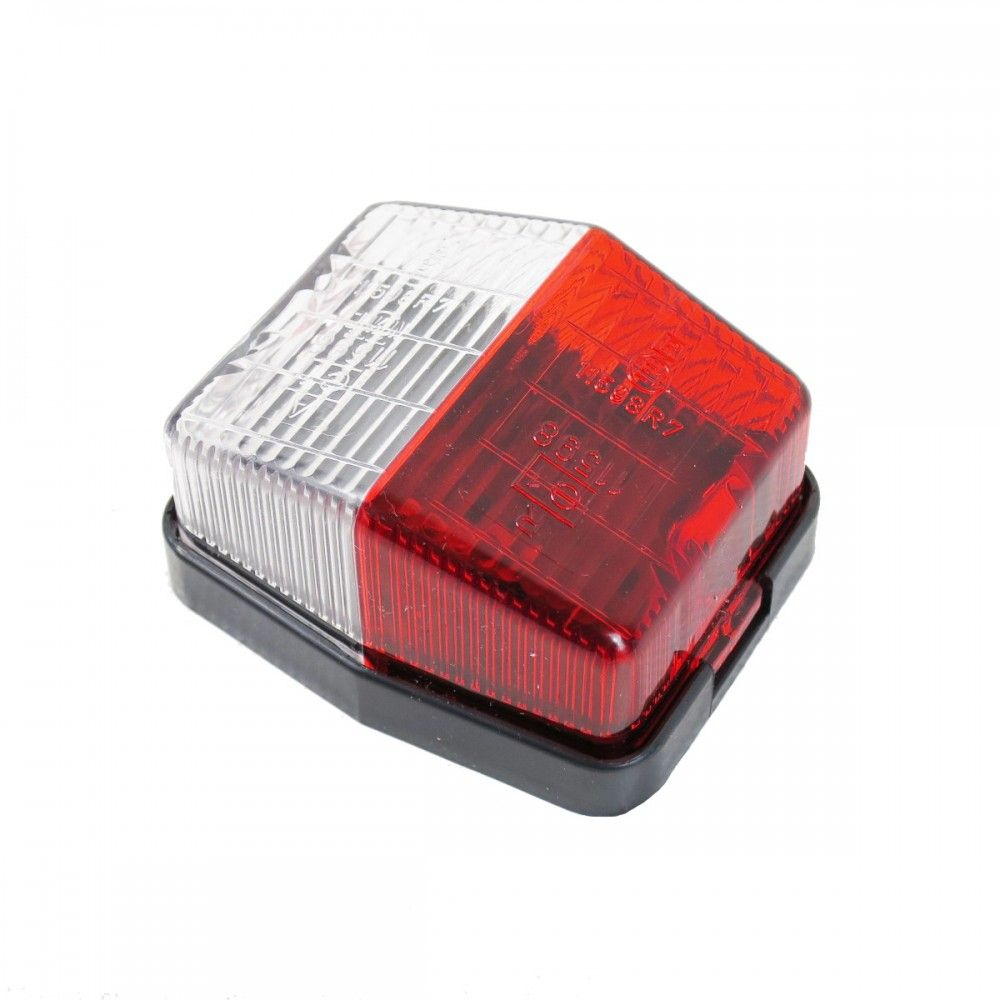Aspöck Flexpoint Umrissleuchte rot//weiß mit DC Verbinder 31-6509-047